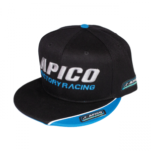 Keps Apico Factory Racing,  svart
