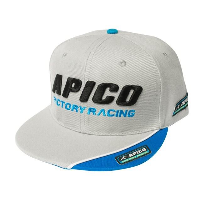 Keps Apico Factory Racing,  Grå