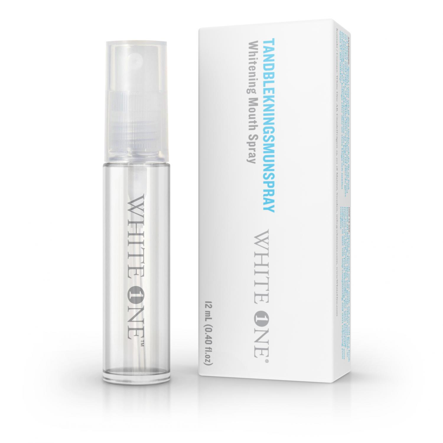Whitening mouth spray
