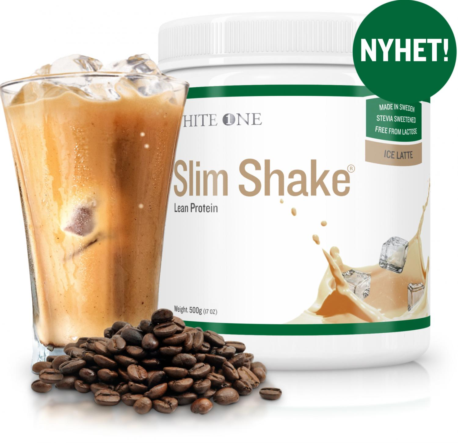 Slim Shake® Protein Powder - Ice Latte