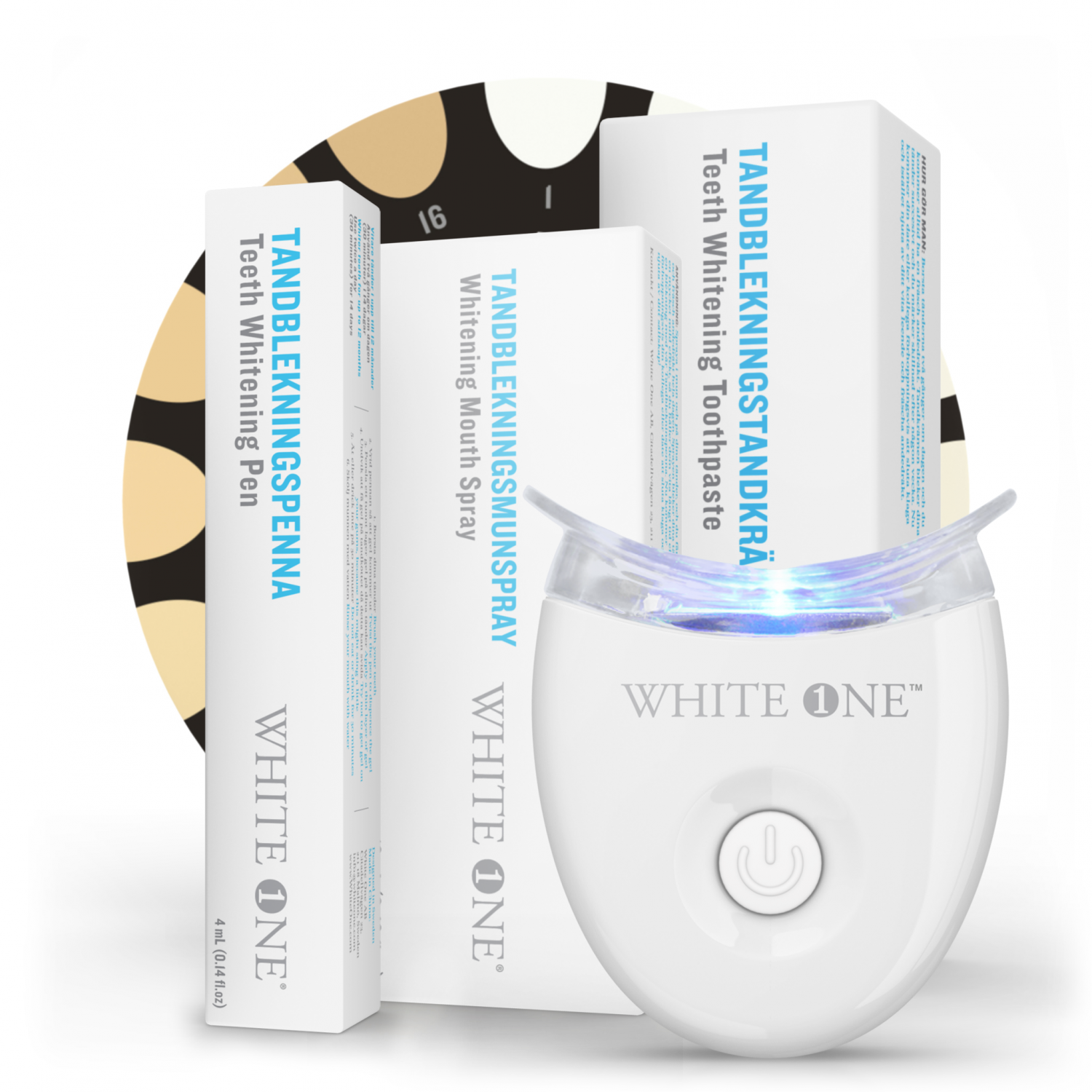 teeth whitening kit online white smile in 7-14 days