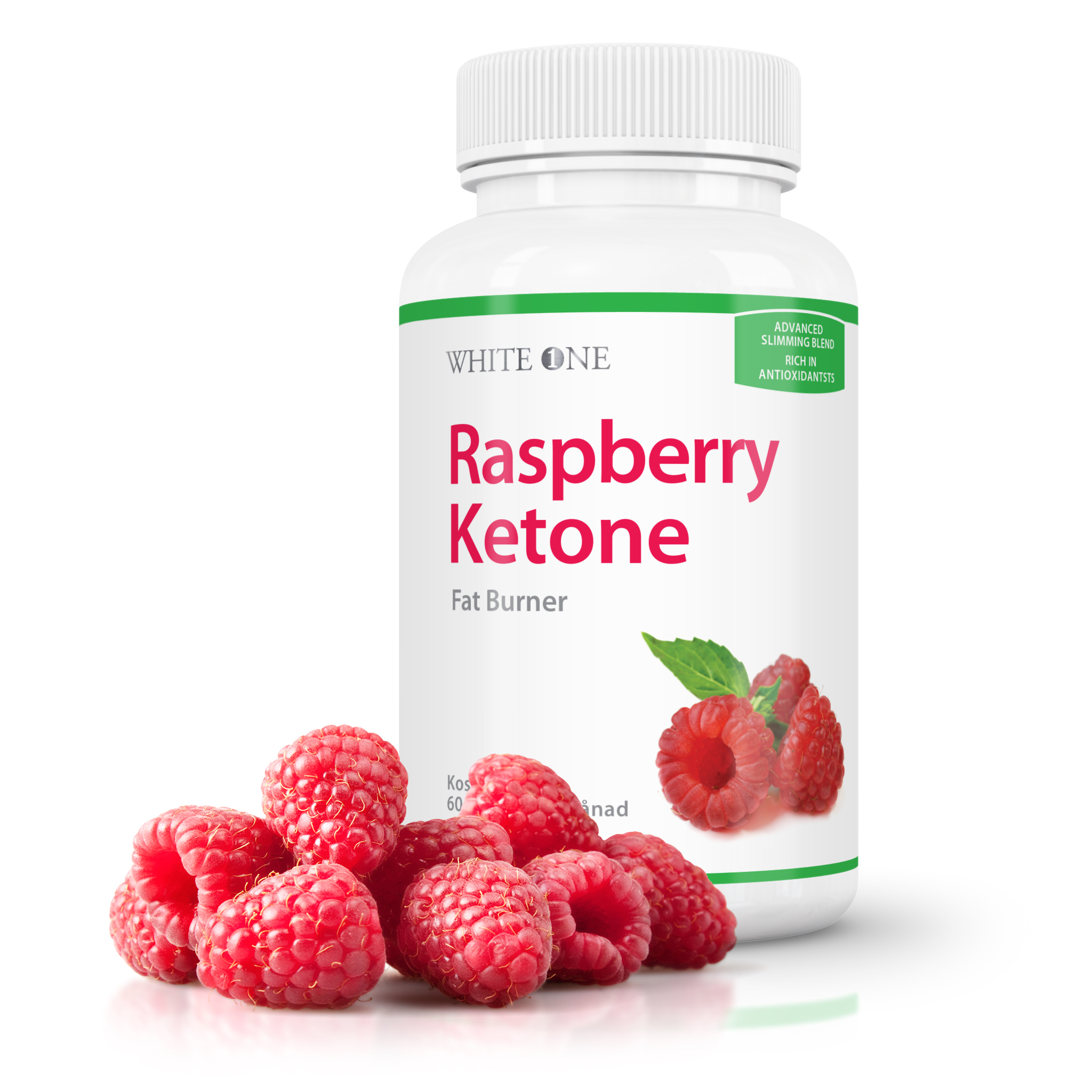 the white one raspberry ketone