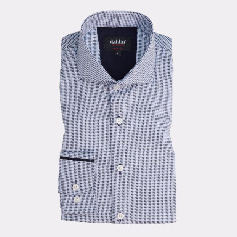 Smårutig skjorta