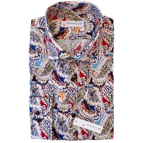 Multifärgad skjorta