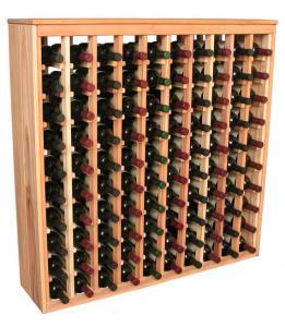 100 flaskors Deluxe vinställ