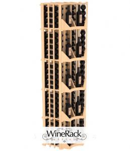 4 Column Radius Corner Display 100 Bottle