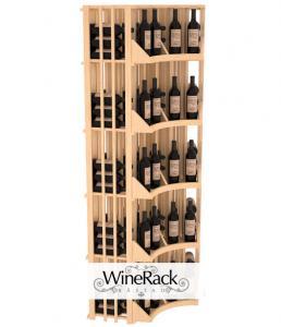 6 Column Radius Corner Display 160 Bottle