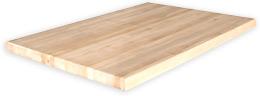 Double Deep Hardwood Butcher Block Top