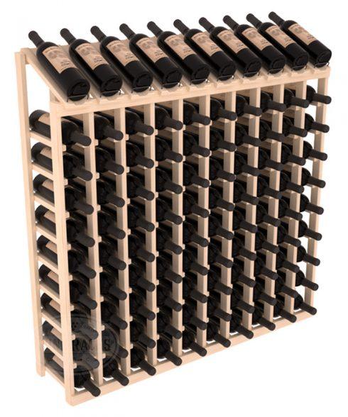 10 x 10 kolumners Top-display Vinställ