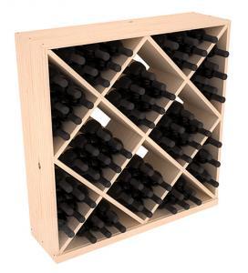 Massiv vinhylla med kuber