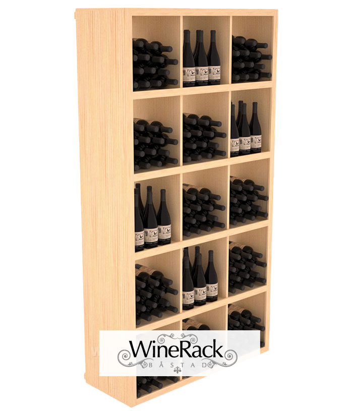 Rectangular Bin Wine Shelf 240 Bottle