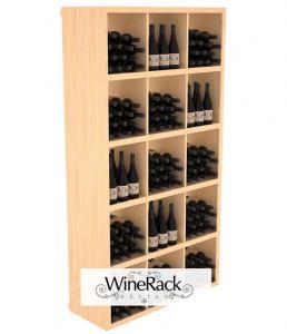 Rectangular Bin Wine Shelf 240 Bottle