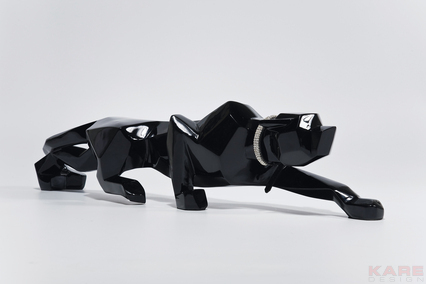 Skulptur Black Panther 90 cm