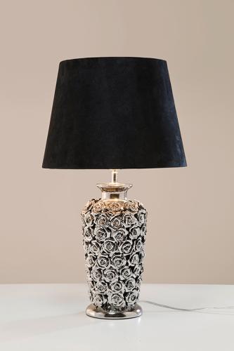 Bordlampa Silver Rose