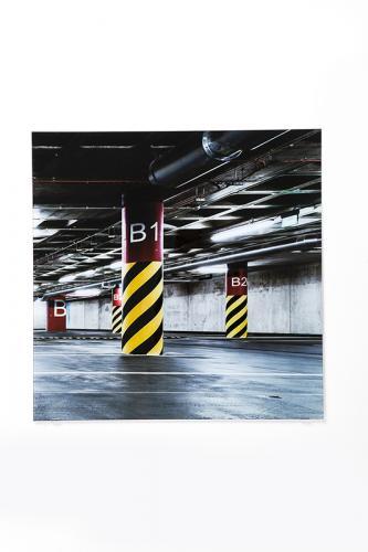 Glastavla Garage 240 cm