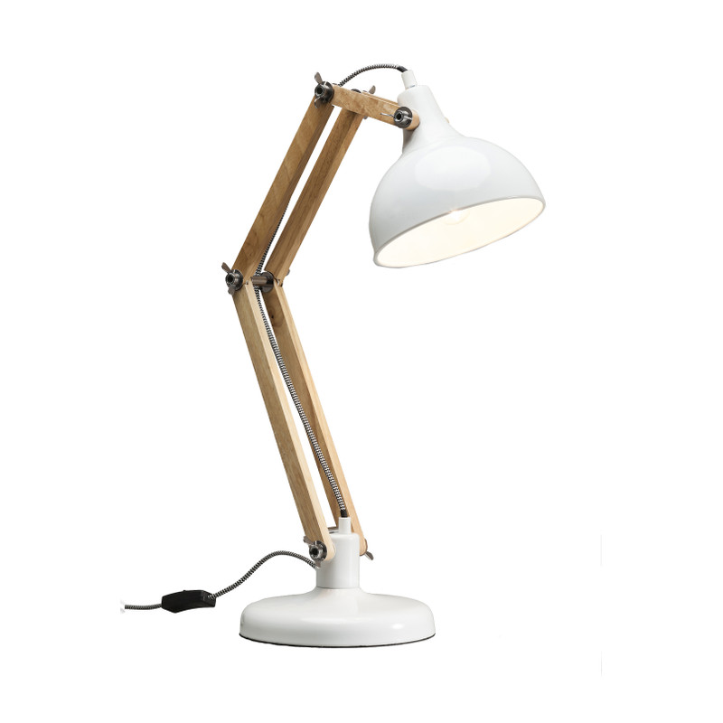 Bordslampa Work Station vit