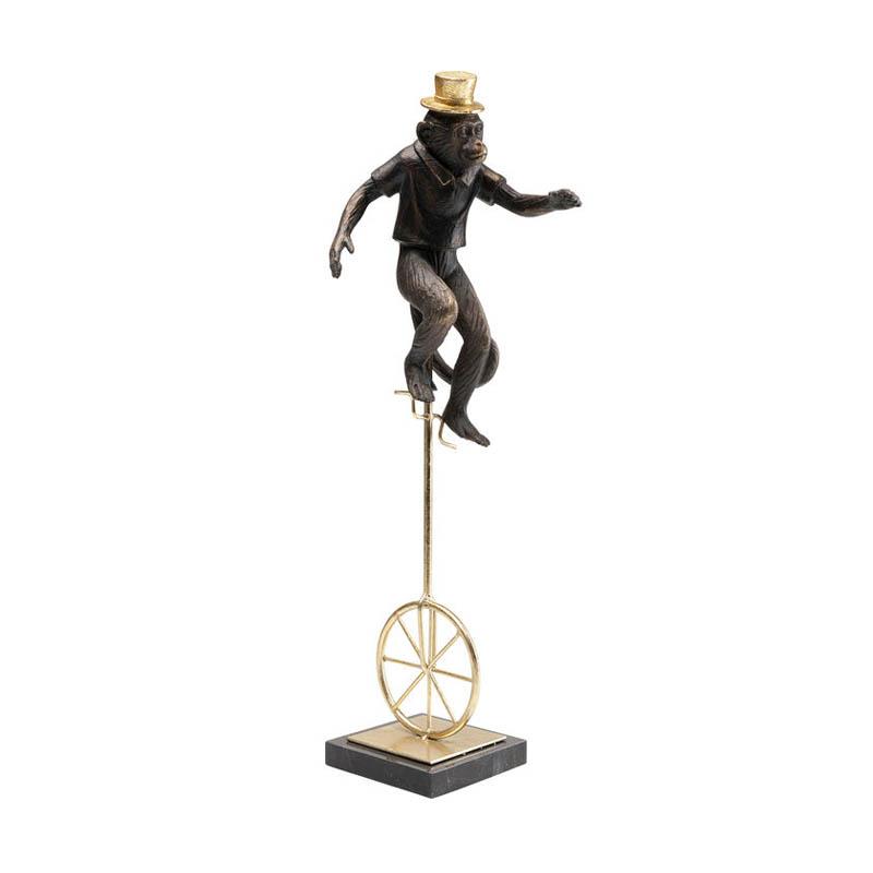 Dekor Cirkusapa på cykel