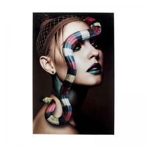 Glastavla | Fotokonst Fearless 2, 80x120cm