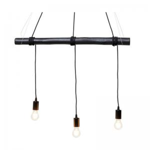 Taklampa Pendel Stock Svart, 3 lampor