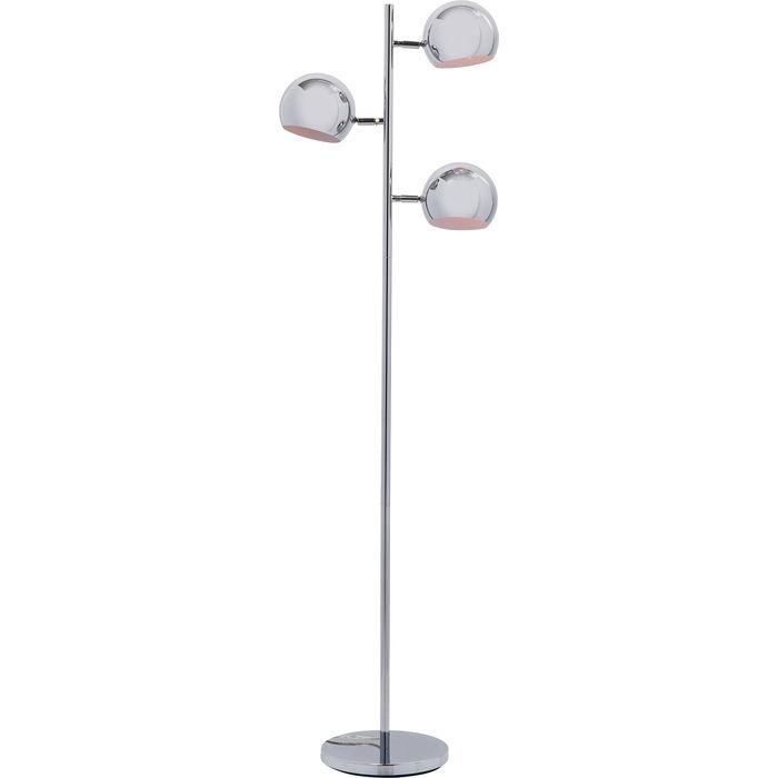 En cool golvlampa i typisk 70-tals design. Finns även med fem kupor