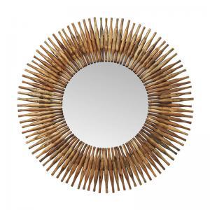 Spegel Träpipa Rund 120 Ø