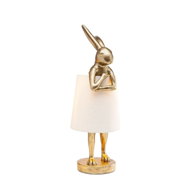Bordslampa Golden Rabbit