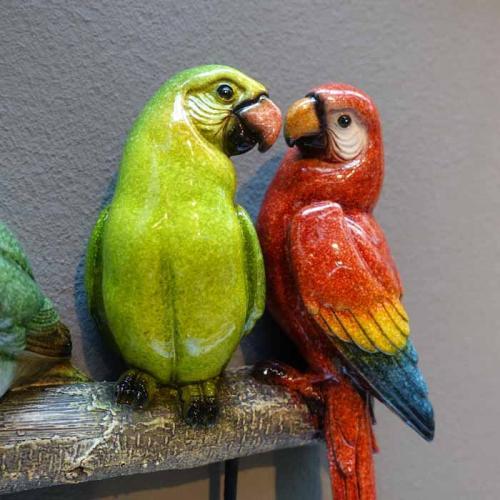 Hängare | Krokar Färgglada Fåglar