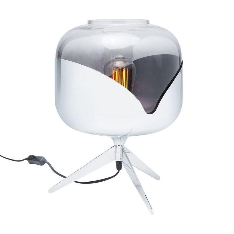 Bordslampa Meryll Krom rund