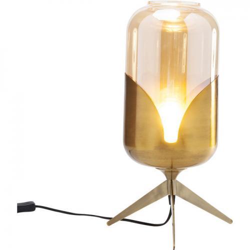 Bordslampa Meryll mässing hög