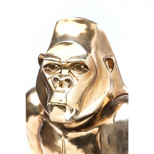Dekor | Skulptur Golden Gorilla