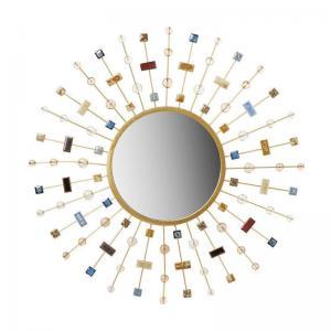 Spegel Smyckad 70 cm Ø
