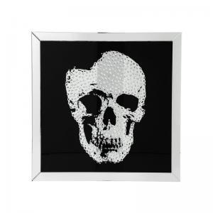 Spegeltavla Skull