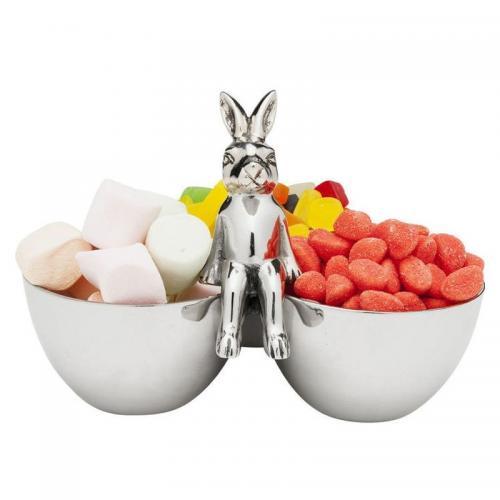 En söt skål i påsk-tema för godis och snacks