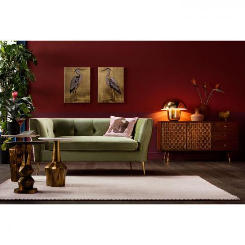 Soffa Gorgeous Green sammet