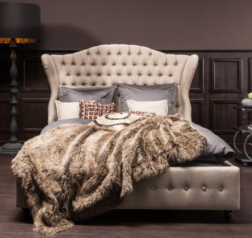 Säng Boudoir Beige - 160 x 200 cm