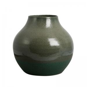 Vas Keramik Mossgrön