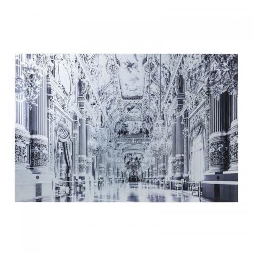 Glastavla Versailles 80 x 120 cm.