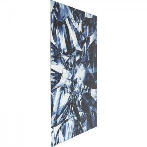 Glastavla Blue Diamond 120 cm