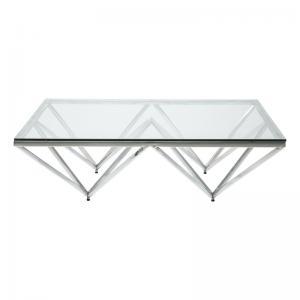 Soffbord Geometry Silver