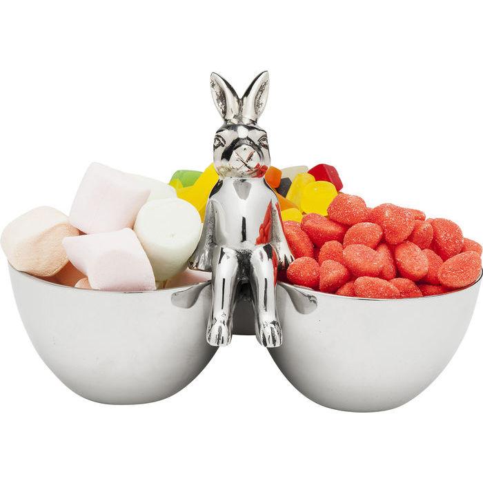 Dekorera bordet till påsk med denna söta godisskål
