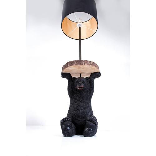 Sidobord | golvlampa Björn