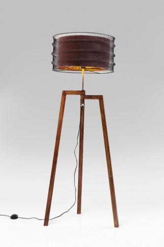 Golvlampa Loft Brun