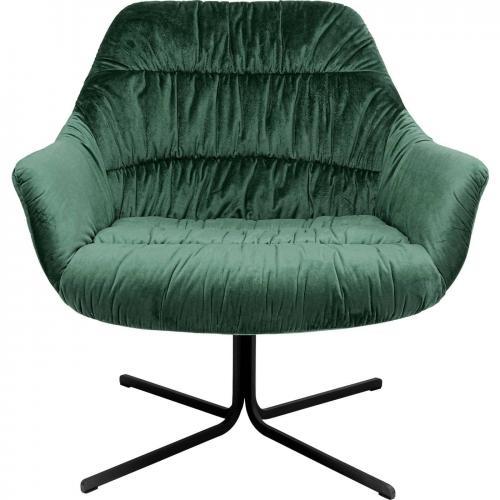 Snurrfåtölj Cover, Grön