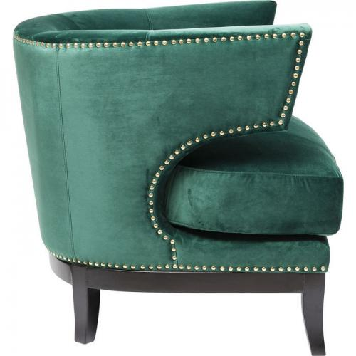 Fåtölj Art Deco Grön