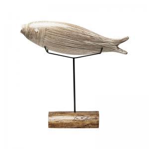 Dekor | Skulptur Pesce Glas