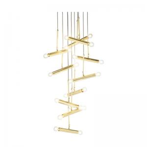 Pendel | Taklampa Cluster Guld