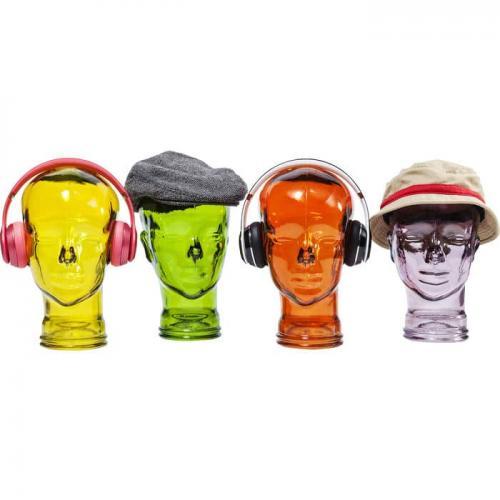 Hörlurställ Headphones Orange