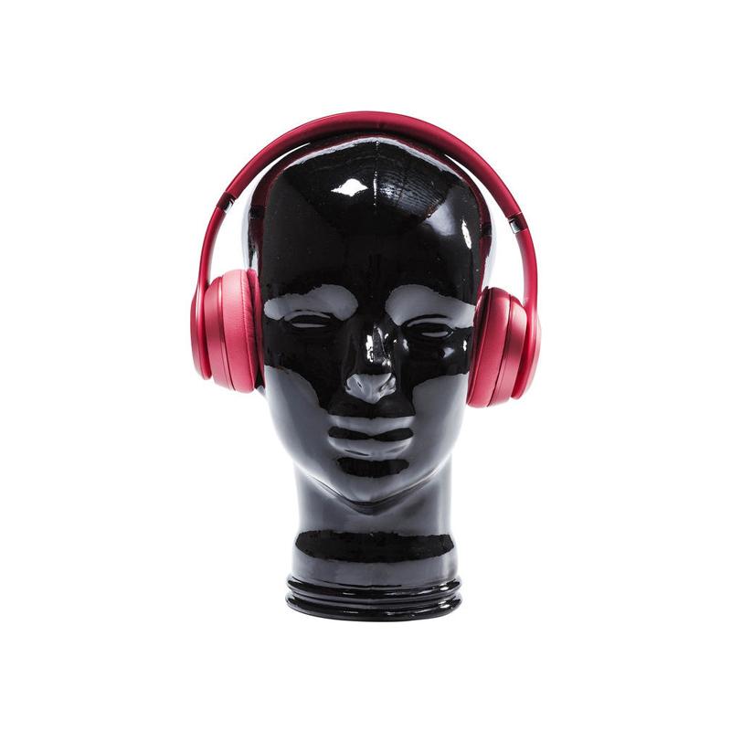 Hörlurställ Headphones Svart