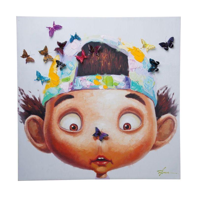 Färglad konst för barnrum