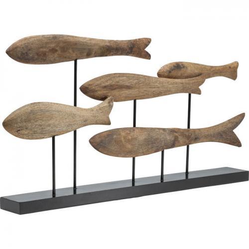 Dekor Träfiskar
